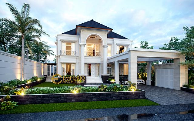 Mr. Hartono Classic House 2 Floors Design - Kalimantan Utara