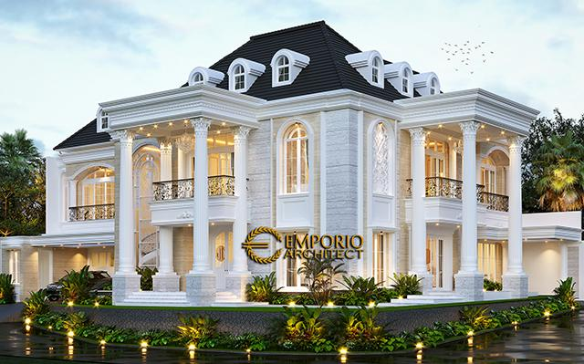 Mrs. Lita Classic House 2 Floors Design - Cibubur, Jakarta Timur