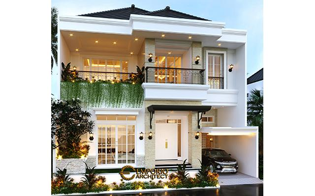 Mrs. Winta Classic House 2 Floors Design - Jakarta