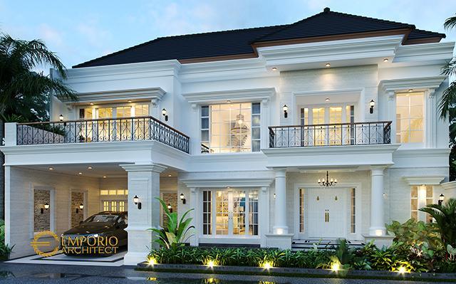 Mr. Deni III Classic House 2 Floors Design - Karawang, Jawa Barat