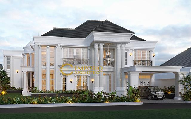 Mr. Boy Classic House 2 Floors Design - Kalimantan Barat
