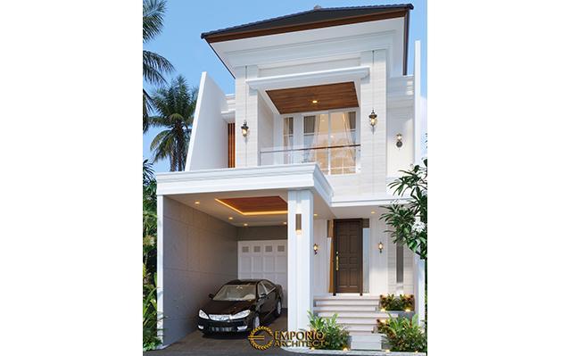 Desain Rumah Classic 2 Lantai Bapak Riko di  Bekasi, Jawa Barat