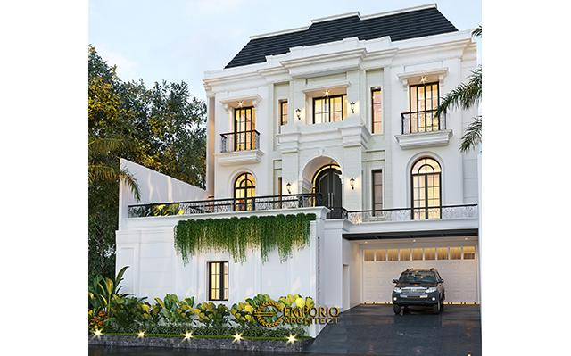 Mr. Candra Mediteran House 3 Floors Design - Jakarta