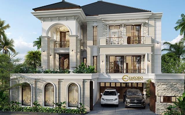Mr. Yonathan Classic House 3 Floors Design - Solo (Surakarta), Jawa Tengah