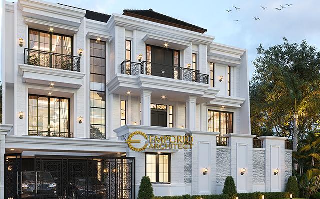 Mrs. Irene Classic House 3 Floors Design - Jakarta Selatan