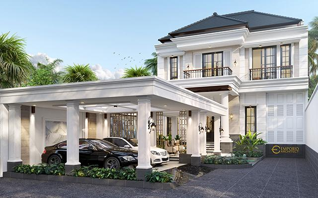 Mr. Billy Classic House 3 Floors Design - Purworejo, Jawa Tengah