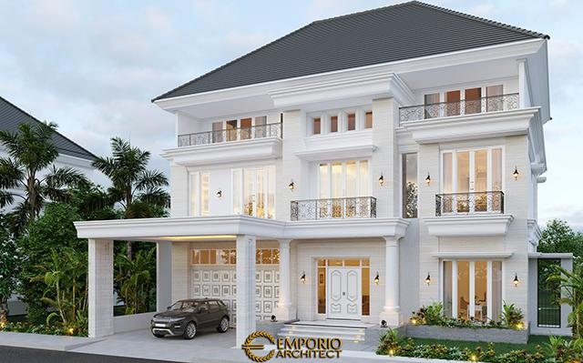 Mr. George Alexander Classic House 3 Floors Design - Riau
