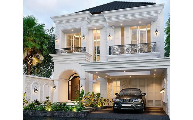 Mrs. Suci Classic Modern House 2 Floors Design - Depok, Jawa Barat