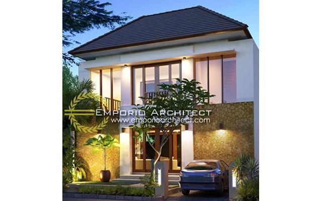 Desain Rumah Villa Bali 2 Lantai Bapak Dewa di  Badung,Bali