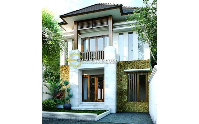 Mrs. Fenti Villa Bali House 2 Floors Design - Ubud, Bali