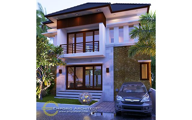 Mrs. Aik Villa Bali House 2 Floors Design - Denpasar, Bali