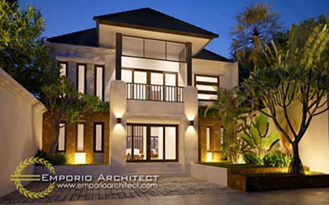 Mrs. Dina Villa Bali House 2 Floors Design - Jakarta