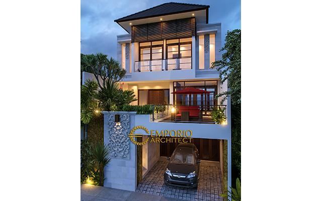 Mrs. Nicola Villa Bali House 3 Floors Design - Jakarta