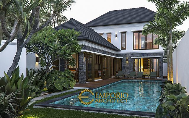 Mrs. Wiwit Villa Bali House 2 Floors Design - Jimbaran