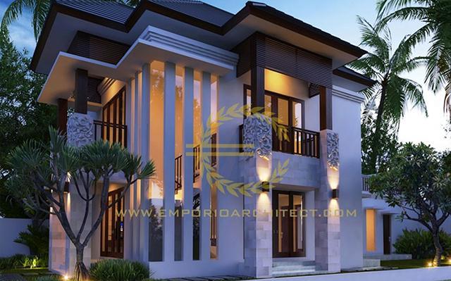 Mrs. Yunita Villa Bali House 2 Floors Design - Denpasar, Bali
