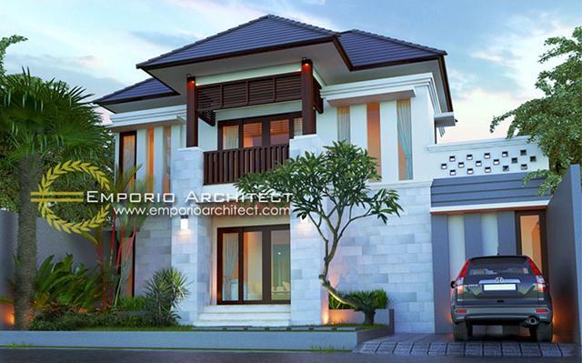 Desain Rumah Villa Bali 2 Lantai Bapak Iwan di  Denpasar, Bali