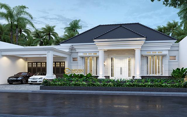 Mr. Alfi Classic House 1 Floor Design - Bogor, Jawa Barat