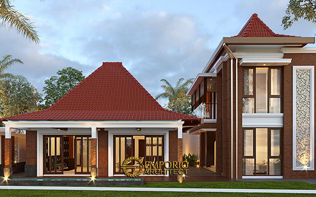 Desain Rumah Klasik Jawa 2 Lantai Bapak Erwin di  Cibubur, Jakarta Timur