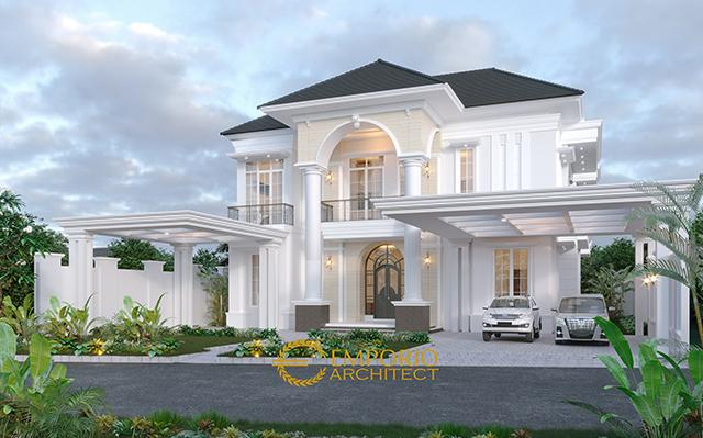 Mr. Datuk Sabri Mediteran House 2 Floors Design - Malaysia