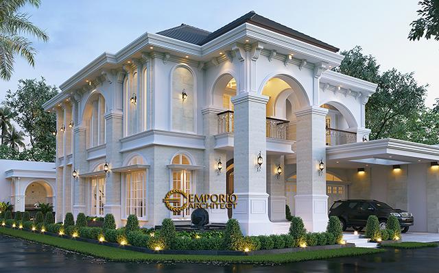 Mr. Zudi Mediterranean House 3 Floors Design - Solo (Surakarta), Jawa Tengah