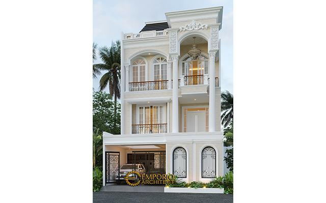 Mr. Aman Mediteran House 3 Floors Design - Jakarta Barat