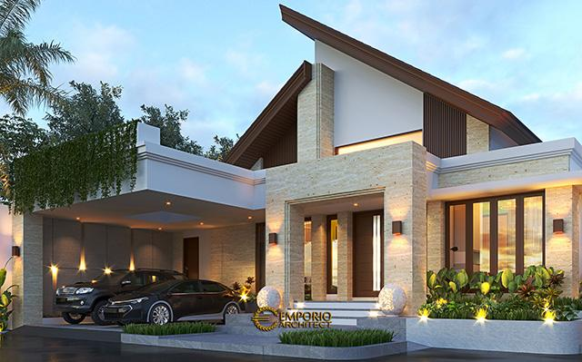 Mrs. Fatima Modern House 1 Floors Design - Dili, Timor Leste