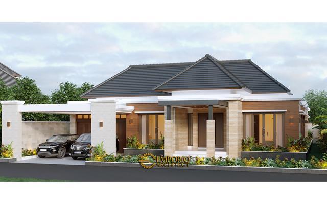 Desain Rumah Villa Bali Modern 1 Lantai Bapak Anwar di  Aceh