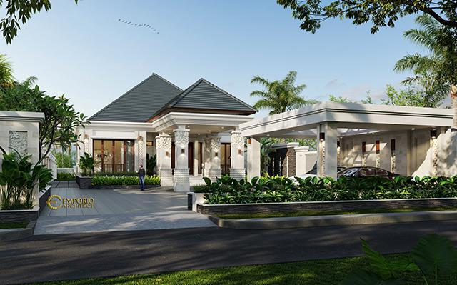 Desain Rumah Villa Bali Modern 1 Lantai Bapak Ivan di  Pangkalan Bun, Kalimantan Tengah