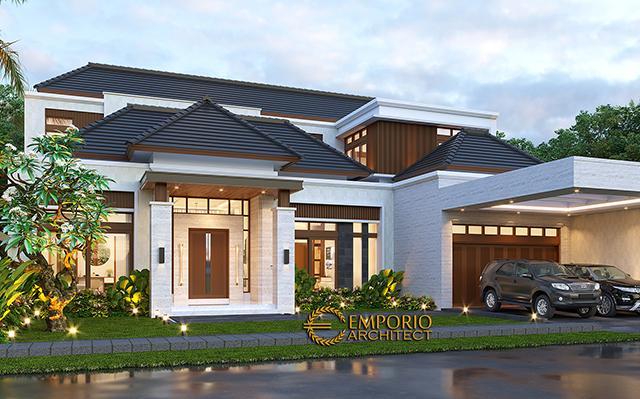 Desain Rumah Modern 1.5 Lantai Bapak HS di  Palu, Sulawesi Tengah