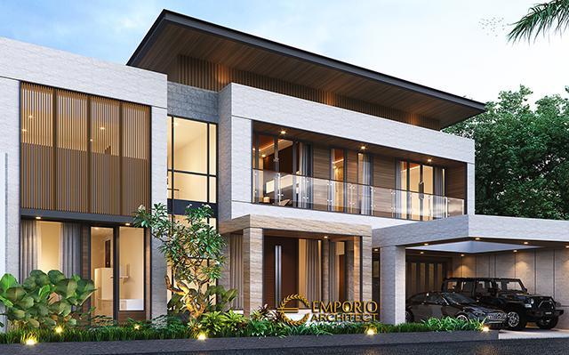 Desain Rumah Modern 2 Lantai Bapak Fachmy di  Bandung, Jawa Barat