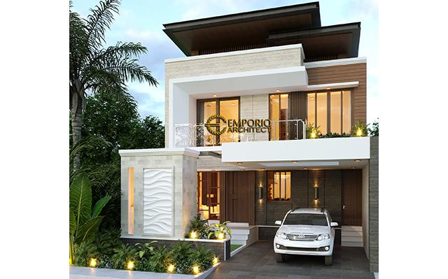 Mr. Zulfic Modern House 2 Floors Design - Palangka Raya, Kalimantan Tengah