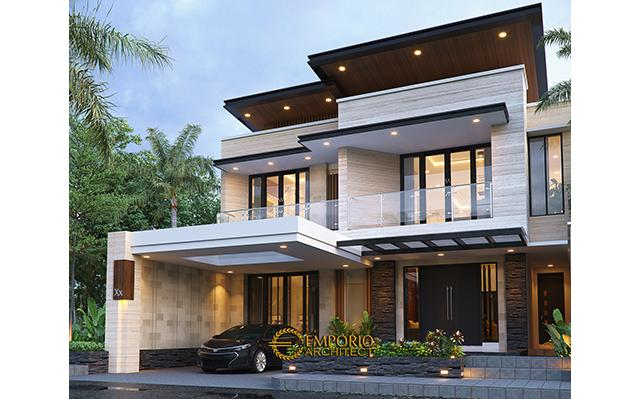 Mr. Habib Modern House 2 Floors Design - Makassar, Sulawesi Selatan