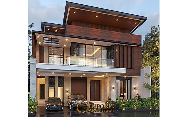 Desain Rumah Modern 2 Lantai Bapak Albert di  Bandung, Jawa Barat