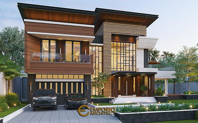Mr. Eruwin Modern House 2 Floors Design - Tanjung Pinang, Kepulauan Riau