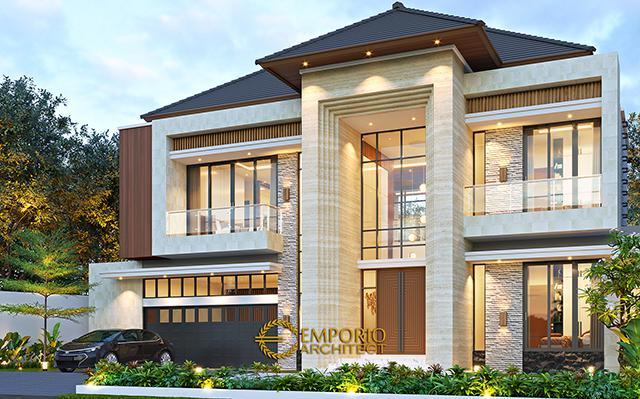 Mrs. Dyni Modern House 2 Floors Design - Depok, Jawa Barat