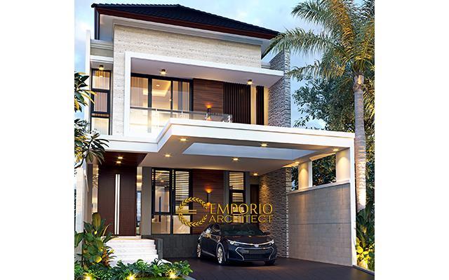 Mr. Tunjung Modern House 2 Floors Design - Bekasi, Jawa Barat