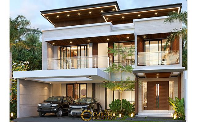 Desain Rumah Modern 2 Lantai Bapak Imam di  Bandung, Jawa Barat