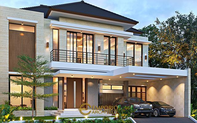 Desain Rumah Modern 2 Lantai Bapak Akhmad Fahmi di  Bekasi, Jawa Barat