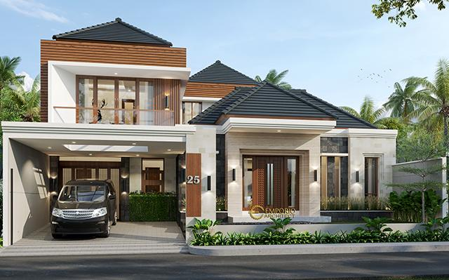Mr. Dedi Modern House 2 Floors Design - Palembang
