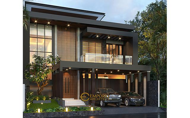 Mrs. Wita Modern House 2 Floors Design - Jakarta Barat