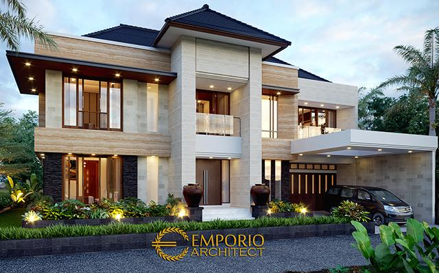 Mr. Steven Modern House 2 Floors Design - Surabaya