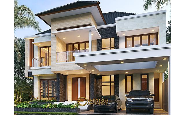 Desain Rumah Modern 2 Lantai Bapak Fredi di  Solo (Surakarta), Jawa Tengah