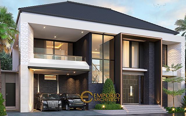 Desain Rumah Modern 2 Lantai Mr. Julio di  Pererenan, Badung, Bali