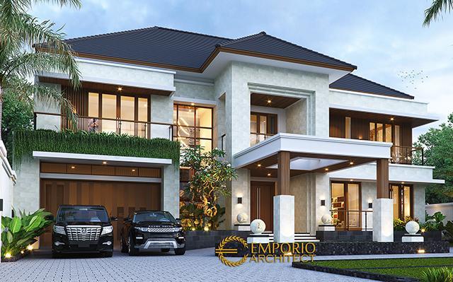 Desain Rumah Modern 2 Lantai Bapak Pamungkas di  Semarang, Jawa Tengah