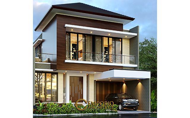 Desain Rumah Modern 2 Lantai Bapak Yosua di  Bekasi, Jawa Barat