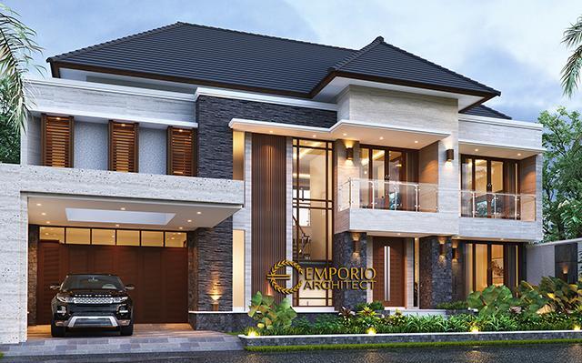 Mrs. Hj. Niniek Modern House 2 Floors Design - Palembang, Sumatera Selatan