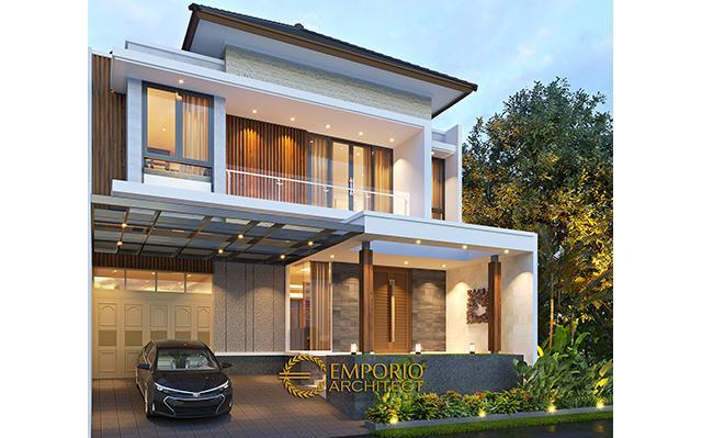 Mr. Daniel Modern House 2 Floors Design - Jakarta Timur