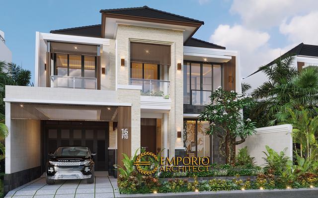 Desain Rumah Modern 2 Lantai Bapak Dadi di  Bekasi, Jawa Barat