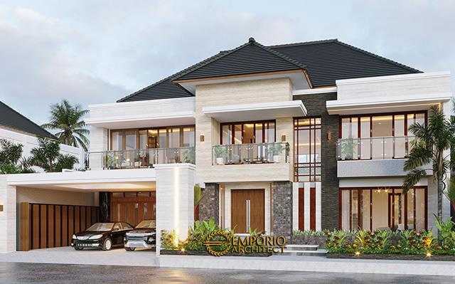 Mr. Daniel Modern House 2 Floors Design - Bengkulu