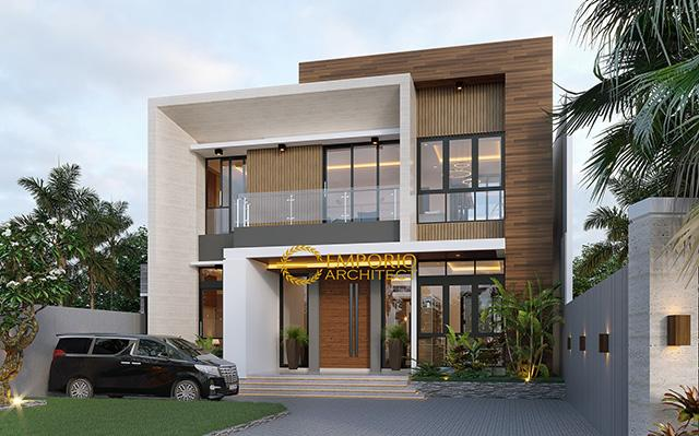 Mr. Herman Modern House 2 Floors Design - Tanjung Pinang, Kepulauan Riau